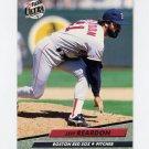 1992 Ultra Baseball #020 Jeff Reardon - Boston Red Sox