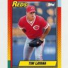 1990 Topps Traded Tiffany Baseball #055T Tim Layana - Cincinnati Reds