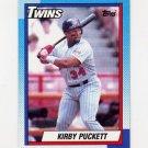 1990 Topps Baseball #700 Kirby Puckett - Minnesota Twins