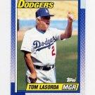 1990 Topps Baseball #669 Tom Lasorda MG - Los Angeles Dodgers