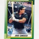 1990 Topps Baseball #250 Jose Canseco - Oakland A's