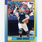 1990 Topps Baseball #157 Craig Biggio - Houston Astros