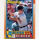 1990 Topps Baseball #008 Cal Ripken RB - Baltimore Orioles