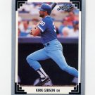 1991 Leaf Baseball #249 Kirk Gibson - Kansas City Royals