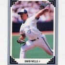 1991 Leaf Baseball #140 David Wells - Toronto Blue Jays