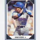 1991 Leaf Baseball #091 Omar Vizquel - Seattle Mariners