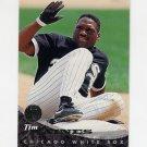 1994 Leaf Baseball #116 Tim Raines - Chicago White Sox