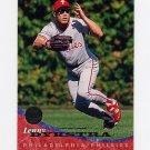 1994 Leaf Baseball #097 Lenny Dykstra - Philadelphia Phillies