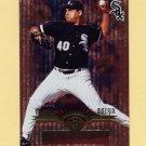 1997 Leaf Fractal Matrix Baseball #068 Wilson Alvarez - Chicago White Sox