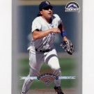 1997 Leaf Baseball #155 Vinny Castilla - Colorado Rockies