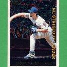 1995 Topps Baseball League Leaders #LL49 Bret Saberhagen - New York Mets