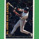 1995 Topps Baseball League Leaders #LL08 Barry Bonds - San Francisco Giants