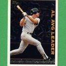 1995 Topps Baseball League Leaders #LL03 Wade Boggs - New York Yankees