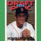 1995 Topps Baseball #587 Nomar Garciaparra - Boston Red Sox