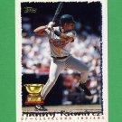 1995 Topps Baseball #577 Manny Ramirez - Cleveland Indians