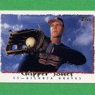 1995 Topps Baseball #535 Chipper Jones - Atlanta Braves