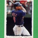 1995 Topps Baseball #503 Albert Belle - Cleveland Indians
