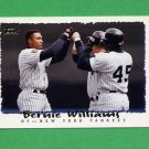 1995 Topps Baseball #485 Bernie Williams - New York Yankees