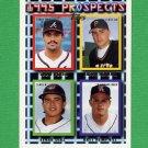 1995 Topps Baseball #480 Eddie Perez RC / Jason Kendall / Einar Diaz / Bret Hemphill