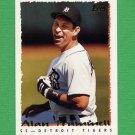1995 Topps Baseball #474 Alan Trammell - Detroit Tigers