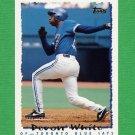 1995 Topps Baseball #427 Devon White - Toronto Blue Jays