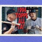 1995 Topps Baseball #386 Matt Williams AS / Wade Boggs AS