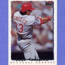 1995 Topps Baseball #300 Jose Canseco - Texas Rangers