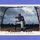 1995 Topps Baseball #196 Rondell White - Montreal Expos