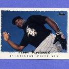 1995 Topps Baseball #077 Tim Raines - Chicago White Sox