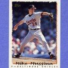 1995 Topps Baseball #050 Mike Mussina - Baltimore Orioles