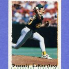 1995 Topps Baseball #045 Dennis Eckersley - Oakland A's