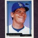 1992 Topps Gold Baseball #751 Steve Wilson - Los Angeles Dodgers