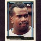 1992 Topps Gold Baseball #604 Chris Gwynn - Los Angeles Dodgers