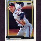 1992 Topps Gold Baseball #435 Mark Eichhorn - California Angels