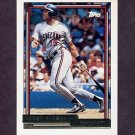 1992 Topps Gold Baseball #420 Sandy Alomar Jr. - Cleveland Indians