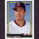 1992 Topps Gold Baseball #269 Ruben Amaro - California Angels