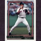 1992 Topps Gold Baseball #097 Luis Rivera - Boston Red Sox