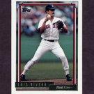 1992 Topps Gold Baseball #097 Luis Rivera - Boston Red Sox