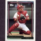 1992 Topps Gold Baseball #091 Jeff Reed - Cincinnati Reds