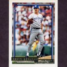 1992 Topps Gold Baseball #054 David Wells - Toronto Blue Jays