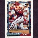 1992 Topps Baseball #680 Dale Murphy - Philadelphia Phillies