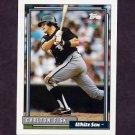 1992 Topps Baseball #630 Carlton Fisk - Chicago White Sox
