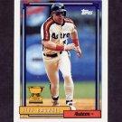 1992 Topps Baseball #520 Jeff Bagwell - Houston Astros
