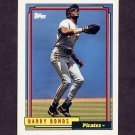 1992 Topps Baseball #380 Barry Bonds - Pittsburgh Pirates