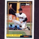 1992 Topps Baseball #330 Will Clark - San Francisco Giants