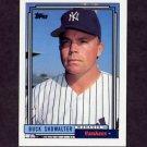 1992 Topps Baseball #201 Buck Showalter MG RC - New York Yankees