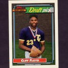 1992 Topps Baseball #186 Cliff Floyd RC - Montreal Expos ExMt