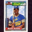 1992 Topps Baseball #156 Manny Ramirez RC - Cleveland Indians