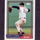 1992 Topps Baseball #150 Roger Clemens - Boston Red Sox