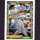 1992 Topps Baseball #100 Jose Canseco - Oakland A's